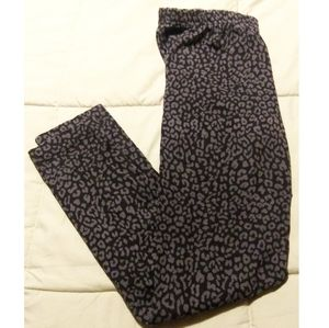 Women's Old Navy Leopard Print Leggings Size Mediu